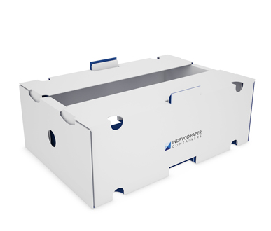 Self-locking Agricultural Tray with Protective Top- IPC-AT-02-001
