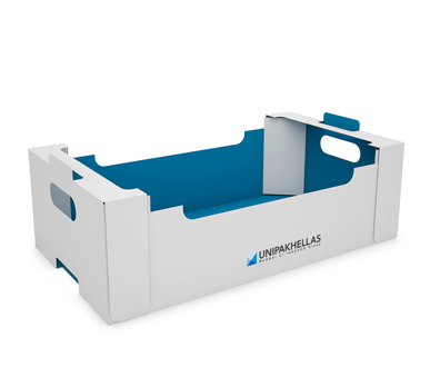 Traypak© - Agricultural Tray with Reinforced Corners- UNIPAKHELLAS-AT-01-005